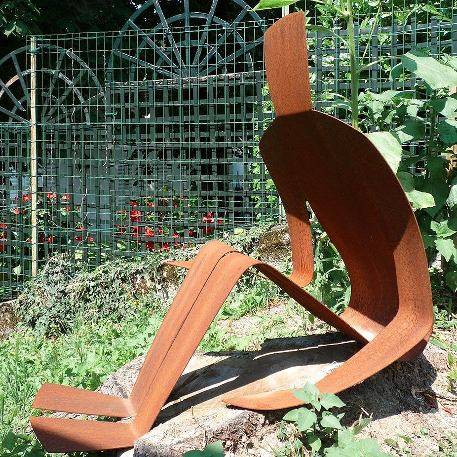 © Stéphane DESELLE - Sculpteur - Ombre 3, série Les ombres